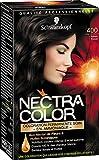 Schwarzkopf Nectra Color Coloration Permanente 400 Châtain Foncé 165 ml