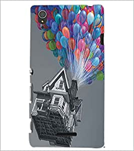 PRINTSWAG BALOON HOUSE Designer Back Cover Case for SONY XPERIA T3