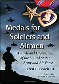 Medals for soldiers and airmen awards and decorations of for Decor 6 air force