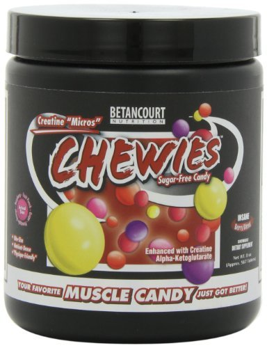 Betancourt Nutrition Creatine Micros Chewies, Insane Berry Blend, 7.6 Ounce