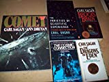 img - for Carl Sagan 5 Volumes Set: Comet, The Varieties of Scientific Experience, The Cosmic Connection, The Dragons of Eden & Broca's Brain book / textbook / text book