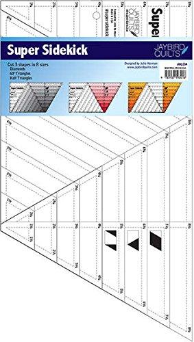 1 X Jaybird Super Sidekick Quilt Ruler Larger Size [Office Product]