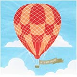 Hot Air Balloon Party Up. Up and Away Beverage Napkins (20)