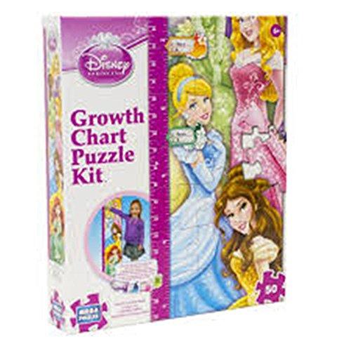 Disney Princess Growth Chart Puzzle Kit