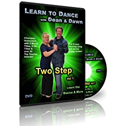 Two Step Vol 1 - Learn the Basics & More (Learn to Dance with Dean & Dawn)