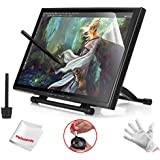 Ugee UG-1910B 19 inches Graphics Tablet Monitor Pen Display for Drawing Painting with 2 Original Pens, 2 USB Cables, Screen Protector and Pergear Cleaning Kit