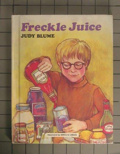 Freckle Juice, JUDY BLUME, SONIA O. LISKER (ILLUSTRATOR)