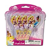Disney Princess 4pk Mini Paddle Ball