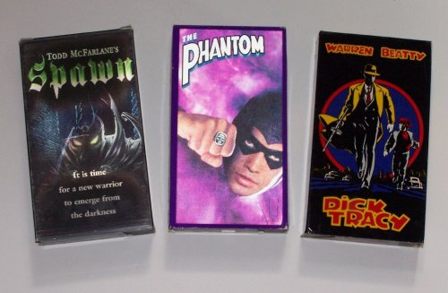 Comic Book Series Video Collection (3Pk): The Phantom; Dick Tracy; Todd Mcfarlane'S Spawn