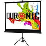 "Duronic TPS86/43 Black Tripod Projector Screen - 86""- 4:3 Screen (Screen: 175cm(W) X 131cm(H))"