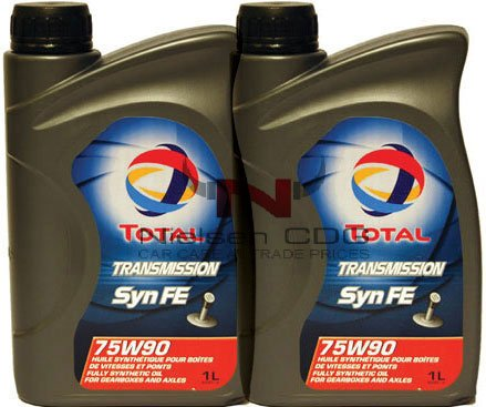 Total Transmission SYN FE 75W90 Gear Oil TOT-166273-2 - 2x1L = 2L