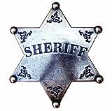 Denix Old West Era 3-Inch Sheriff's Replica Badge