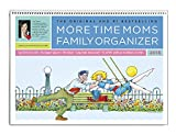 Family Organizer 2015 More Time Moms Award Winning Deluxe Wall Calendar - Get Your Family Organized