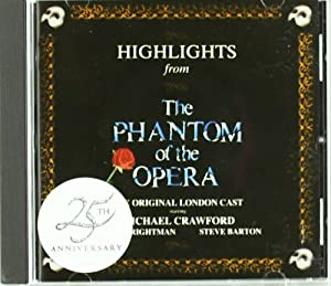 Highlights from the Phantom of the opera (Bande Originale du Film)