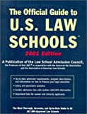 Official Guide to U.S. Law Schools 2001 (0942639693) by Bonnie Gordon