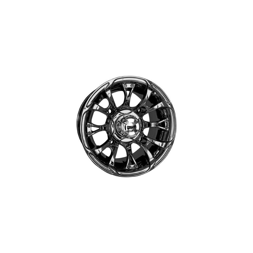 Douglas Wheel Nitro Wheel   12x7   4+3 Offset   Black Chrome 989 10BC