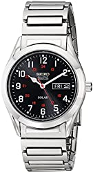 "Seiko Men's SNE179 ""Classic"" Stainless Steel Solar Watch"