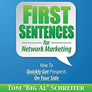 First Sentences for Network Marketing Audiobook