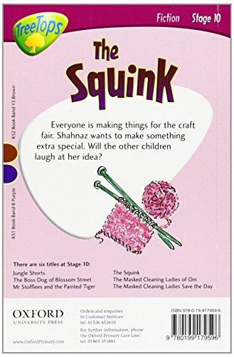 Oxford Reading Tree: Level 10: TreeTops Stories: The Squink (Treetops Fiction)