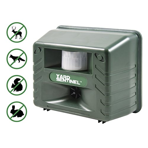 yard-sentinel-outdoor-electronic-pest-animal-ultrasonic-repeller-with-ac-adaptor-extension-cord-for-