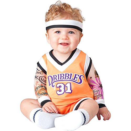 Double Dribble Basketball Player Toddler Costume - 18 Months-2T front-893595
