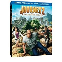 Journey 2: The Mysterious Island (Blu-ray/DVD Combo + UltraViolet Digital Copy)