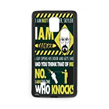 buy Personalized Note 4 Hard Tpu Rubber Phone Case Compatible For Samsung Galaxy Note 4 Iv - Breaking Bad (Design A727)