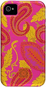 Case-Mate Tough CM021241 Custom Case for Apple iPhone 4/4S (Paisley/Pink)