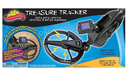Poof-Slinky - Scientific Explorer Treasure Tracker Digital Metal Detector With Lcd Information Screen, 17000