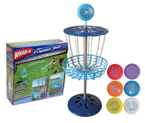 Inflatable Furniture Target Mini Frisbee Golf Set offers indoor or outdoor fun for the whole ...