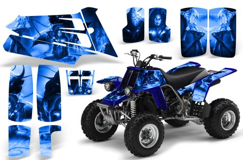 Mayhem Blue Graphics Kit Senge Graphics 2000-2007 Yamaha TTR 125