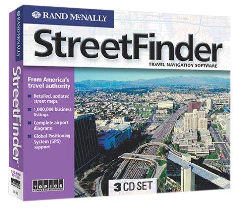 Rand McNally StreetFinder Jewel CaseB0000AFV56