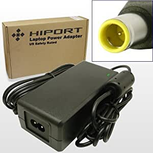 Hiport 65W AC Power Adapter Charger For IBM Lenovo Thinkpad T60, T60P, T61 T61P, Type 1951, 1959, 6377, 6378, 6379, 6457, 6458, 6459, 6460, 6461, 6462, 6463, 6464, 6465, 6466, 6467, 6468, 6470, 6471, 6480, 6481, 7658, 7659, 7660, 7661, 7662, 7663, 7664, 7665, 8889, 8890, 8891, 8892, 8895, 8896, 8897, 8898, 8899, 8900, 8938, 8939 Laptop Notebook Computers