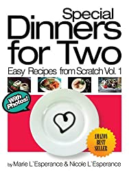 Special Dinners for Two (Easy Recipes from Scratch Book 1)