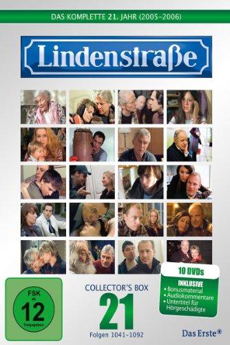 Die Lindenstraße - Das komplette 21. Jahr, Folgen 1041-1092 (Collector's Box,10 Discs)