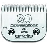Andis Pet #30 CeramicEdge Blade Set, 1/50-Inch - 0.5 mm (64260)