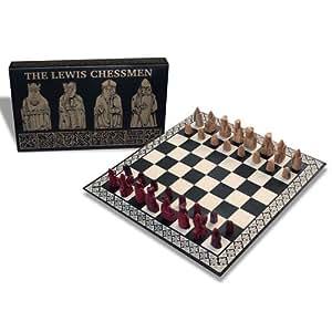 The lewis chessmen miniature chess set toys games - Lewis chessmen set ...