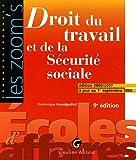 echange, troc Dominique Grandguillot - Droit du travail et de la Sécurité sociale : Edition 2006-2007 à jour au 1er septembre 2006