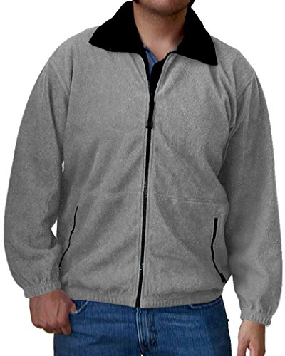 Colorado Timberline Men's Telluride Fleece Jacket-L (Navy