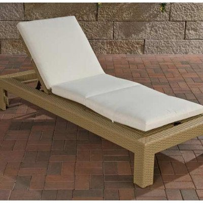 Sonnenliege Casoria mit Sitzauflage Farbe (Gestell): Sand günstig