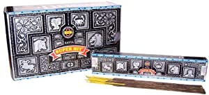 Satya Nag Champa Super Hit Incense, 15 Sticks - Single Pack