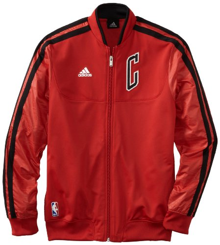 NBA Chicago Bulls On-Court Warm-Up Jacket Home Weekday, Large, Red at Amazon.com