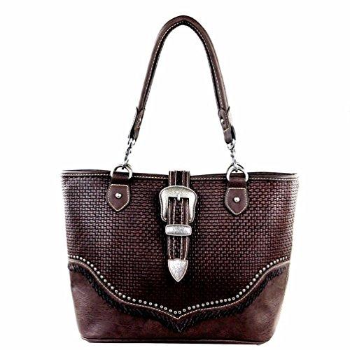 trinity-ranch-buckle-design-concealed-handgun-collection-tote-handbag-coffee