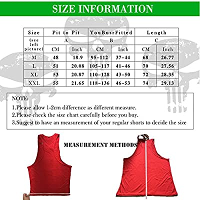 Higym Mens Tank Top Palm Print Stringer Bodybuilding Gym Vest T-shirt