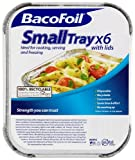 Six Baco Foil Portion Trays (Pack of 4)