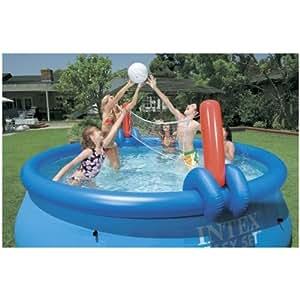 intex wasserspiel volley und basketball set mehrfarbig. Black Bedroom Furniture Sets. Home Design Ideas