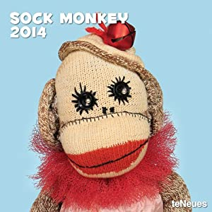 2014 Sock Monkey Wall Calendar