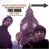 img - for Anyway Anyhow Anywhere: The Complete Chronicle of THE WHO 1958-1978 book / textbook / text book
