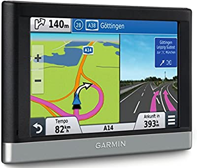 Garmin nüvi 2447LMT CE Navigationsgerät (10,9 cm (4,3 Zoll) Touch-Display, Kartenmaterial 22 Länder Europas, Kartenupdate, TMC Pro)