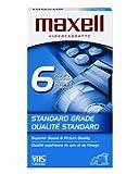 Maxell T-120 STD - Standard Grade Videocassette